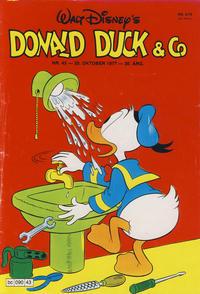 Cover Thumbnail for Donald Duck & Co (Hjemmet / Egmont, 1948 series) #43/1977