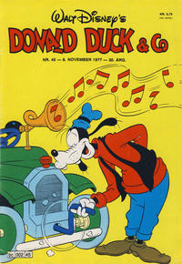 Cover Thumbnail for Donald Duck & Co (Hjemmet / Egmont, 1948 series) #45/1977