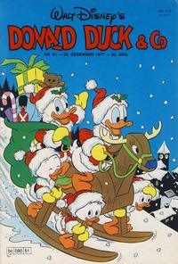 Cover Thumbnail for Donald Duck & Co (Hjemmet / Egmont, 1948 series) #51/1977