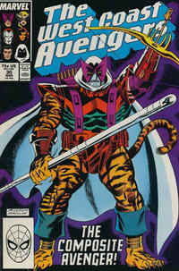 Cover Thumbnail for West Coast Avengers (Marvel, 1985 series) #30 [Direct Edition]