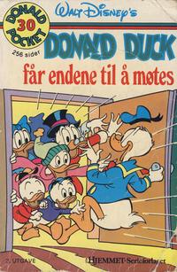 Cover Thumbnail for Donald Pocket (Hjemmet / Egmont, 1968 series) #30 - Donald Duck får endene til å møtes [3. opplag]