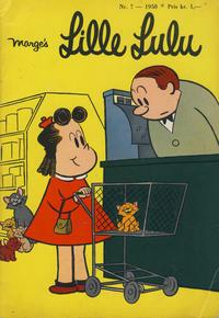 Cover Thumbnail for Lille Lulu (Serieforlaget / Se-Bladene / Stabenfeldt, 1958 series) #7/1958