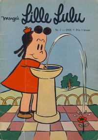 Cover Thumbnail for Lille Lulu (Serieforlaget / Se-Bladene / Stabenfeldt, 1958 series) #1/1959