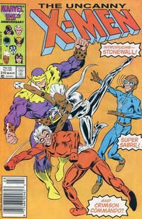 Cover Thumbnail for The Uncanny X-Men (Marvel, 1981 series) #215 [Newsstand]