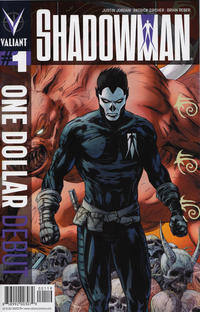 Cover Thumbnail for One Dollar Debut: Shadowman (Valiant Entertainment, 2013 series) #1