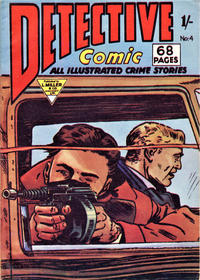 Cover Thumbnail for Detective Comic (L. Miller & Son, 1959 series) #4