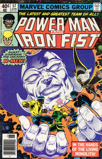 Cover Thumbnail for Power Man (Marvel, 1974 series) #57 [Newsstand]