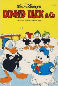 Cover Thumbnail for Donald Duck & Co (Hjemmet / Egmont, 1948 series) #1/1978
