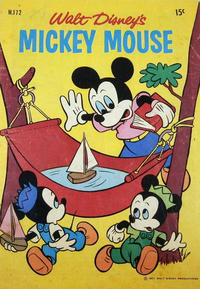 Cover Thumbnail for Walt Disney's Mickey Mouse (W. G. Publications; Wogan Publications, 1956 series) #172