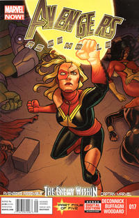Cover Thumbnail for Avengers Assemble (Marvel, 2012 series) #17 [Newsstand Edition]
