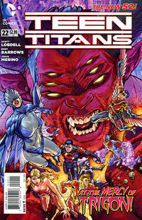 Cover Thumbnail for Teen Titans (DC, 2011 series) #22 [Direct Sales]
