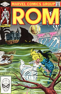 Cover for ROM (Marvel, 1979 series) #33 [Direct Edition]