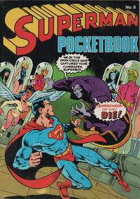 Cover Thumbnail for Superman Pocketbook (Egmont/Methuen, 1976 series) #8
