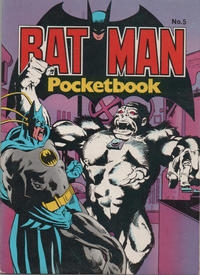 Cover Thumbnail for Batman Pocketbook (Egmont/Methuen, 1978 series) #5