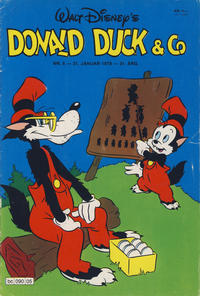 Cover Thumbnail for Donald Duck & Co (Hjemmet / Egmont, 1948 series) #5/1978