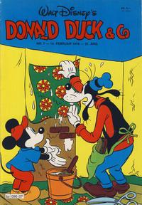 Cover Thumbnail for Donald Duck & Co (Hjemmet / Egmont, 1948 series) #7/1978