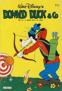 Cover Thumbnail for Donald Duck & Co (Hjemmet / Egmont, 1948 series) #10/1978