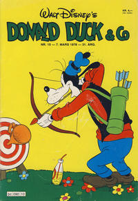 Cover Thumbnail for Donald Duck & Co (Hjemmet / Egmont, 1948 series) #10/1978