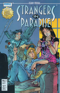 Cover Thumbnail for Terry Moore's Strangers in Paradise (Image, 1996 series) #1 [Cover A]