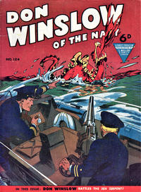 Cover Thumbnail for Don Winslow of the Navy (L. Miller & Son, 1952 series) #124