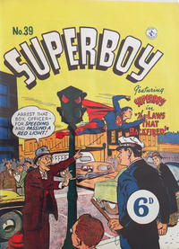 Cover Thumbnail for Superboy (K. G. Murray, 1949 series) #39