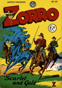 Cover Thumbnail for Zorro (L. Miller & Son, 1952 series) #54