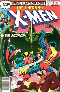 Cover for The X-Men (Marvel, 1963 series) #115 [Regular Edition]