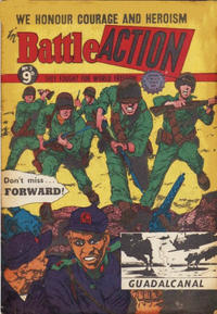 Cover Thumbnail for Battle Action (Horwitz, 1954 ? series) #3