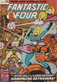 Cover Thumbnail for Fantastic Four (Yaffa / Page, 1979 ? series) #195