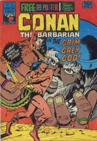 Cover Thumbnail for Conan the Barbarian (Newton Comics, 1975 series) #3
