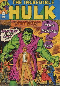Cover Thumbnail for The Incredible Hulk (Newton Comics, 1974 series) #1
