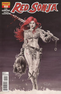 Cover Thumbnail for Red Sonja (Dynamite Entertainment, 2013 series) #1 [Cover A - Nicola Scott]