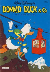 Cover Thumbnail for Donald Duck & Co (Hjemmet / Egmont, 1948 series) #11/1978