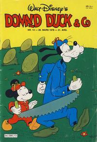 Cover Thumbnail for Donald Duck & Co (Hjemmet / Egmont, 1948 series) #13/1978