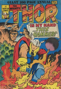 Cover Thumbnail for The Mighty Thor Annual (Newton Comics, 1976 ? series)