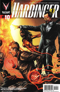 Cover Thumbnail for Harbinger (Valiant Entertainment, 2012 series) #10 [Cover A - Mico Suayan]
