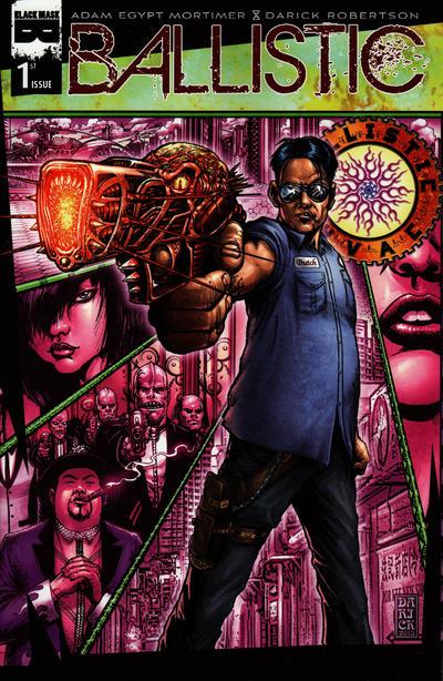 Cover for Ballistic (Black Mask Studios, 2013 series) #1 [Hero Initiative Cover]