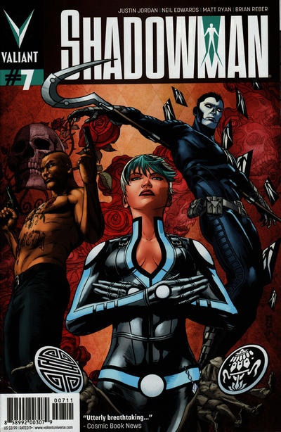 Cover for Shadowman (Valiant Entertainment, 2012 series) #7 [Cover A - Patrick Zircher]