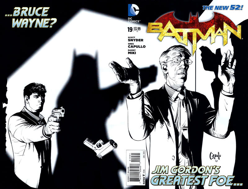 Cover for Batman (DC, 2011 series) #19 [MAD Magazine Cover]