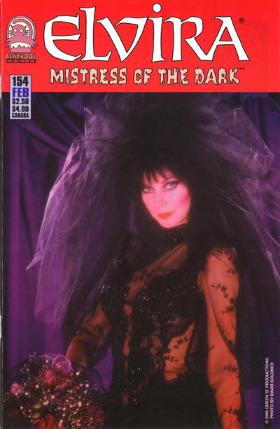 Cover for Elvira, Mistress of the Dark (Claypool Comics, 1993 series) #154