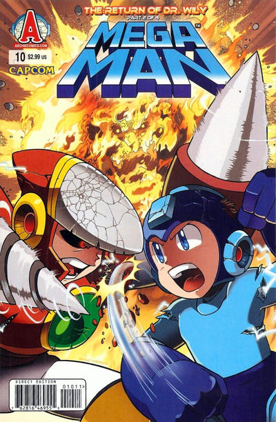 Cover for Mega Man (Archie, 2011 series) #10