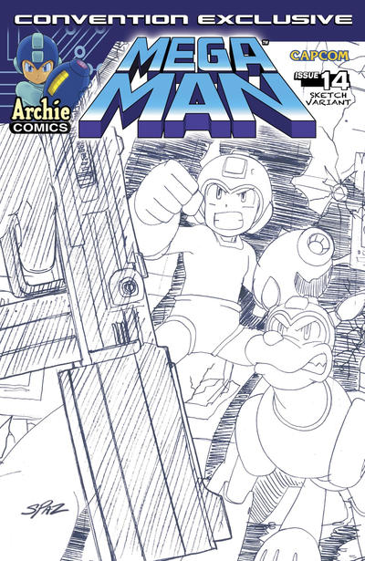 Cover for Mega Man (Archie, 2011 series) #14