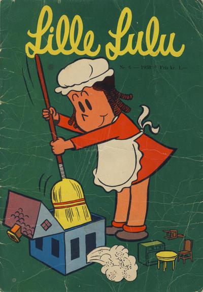 Cover for Lille Lulu (Serieforlaget / Se-Bladene / Stabenfeldt, 1958 series) #6/1958