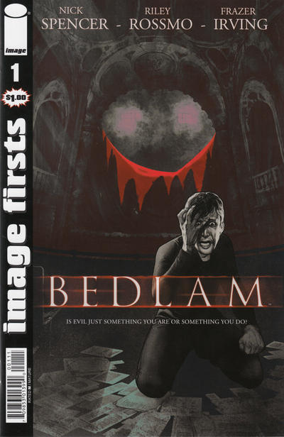 Cover for Image Firsts: Bedlam (Image, 2013 series) #1