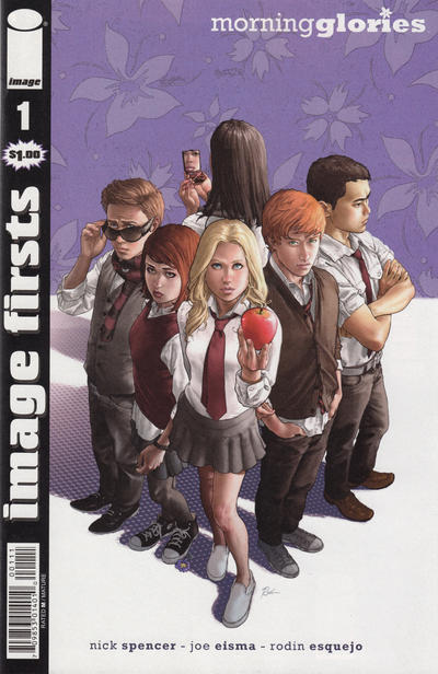 Cover for Image Firsts: Morning Glories (Image, 2013 series) #1
