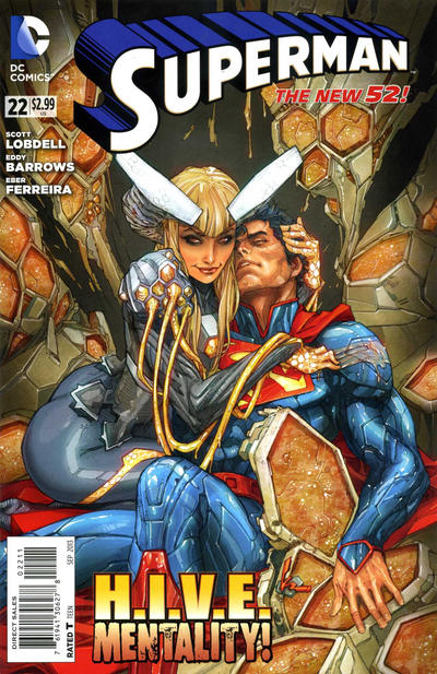 Cover for Superman (DC, 2011 series) #22 [Direct Sales]