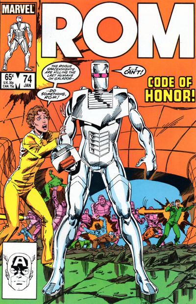 Cover for ROM (Marvel, 1979 series) #74 [Direct Edition]