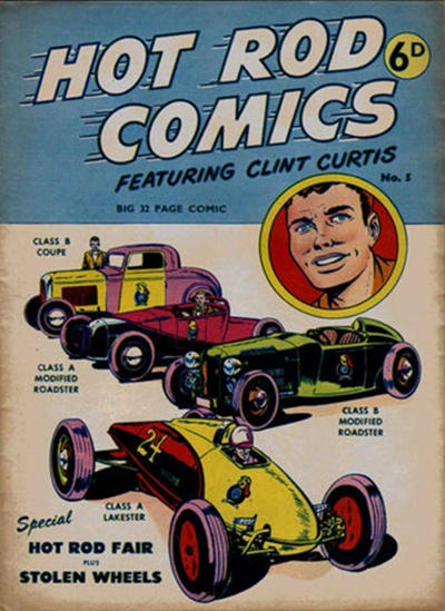 Cover for Hot Rod Comics (Arnold Book Company, 1951 series) #5