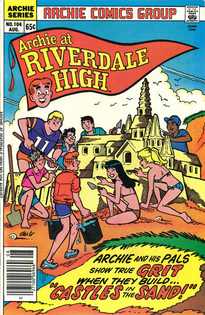 Cover for Archie at Riverdale High (Archie, 1972 series) #104