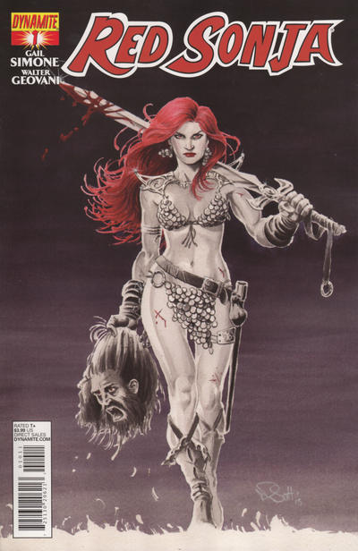 Cover for Red Sonja (Dynamite Entertainment, 2013 series) #1 [Cover A]
